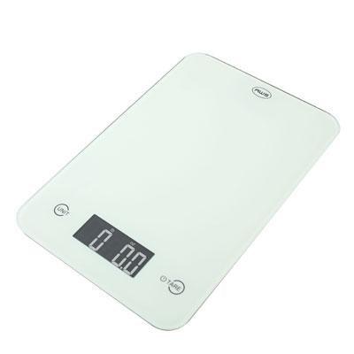 Thin Digital Kitchen Scale Wht