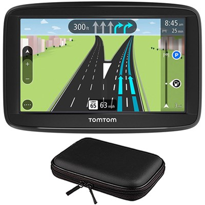 VIA 1625TM 6` Touchscreen GPS Navigation Device Lifetime Maps w/ Hardshell Case