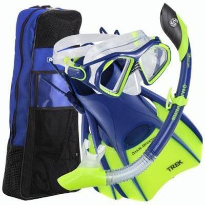 Small Admiral LX/Island Dry LX/Trek/Travel Bag Set in Cobalt Blue - 261229