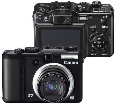 Powershot G7 Digital Camera