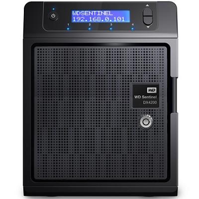 Sentinel DX4200 8TB Windows Storage Server - WDBRZD0080KBK-NESN