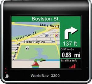 WORLDNAV 3300 GPS Navigation System for Commercial Drivers