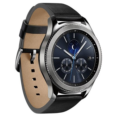 Gear S3 Classic Bluetooth Watch with Built-in GPS - Silver