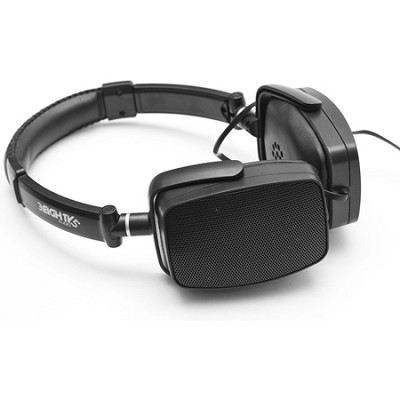 DuoPlay Black Stereo Headphone & Portable Speaker