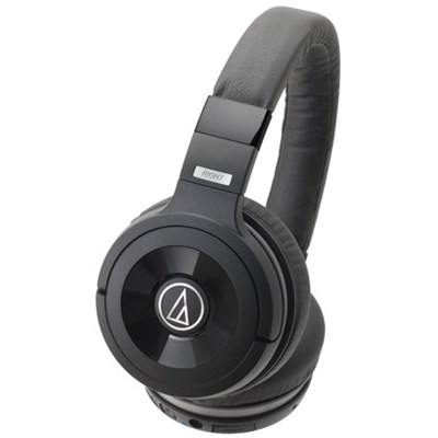 ATH-WS99BT Solid Bass Wireless Over-Ear Headphones w/ Built-in Mic & Control