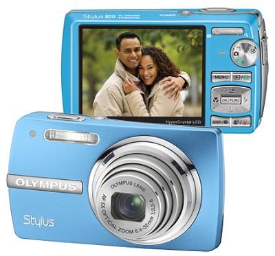 Stylus 820 Digital Camera (Blue)