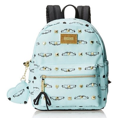 Signature Studded Backpack (Minty Blue)