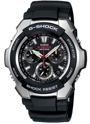 G1000-1A - G-Shock Analog Chronograph Black Dial