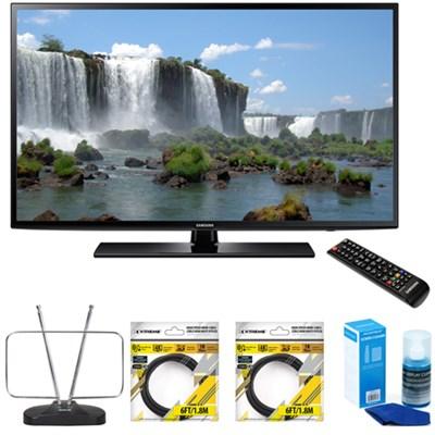 65` Full HD 1080p 120hz Smart LED HDTV UN65J6200 w/ Accessories Bundle