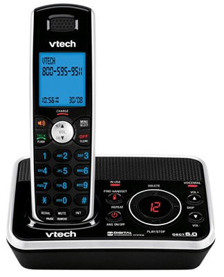 DS6221 - DECT 6.0 Expandable Cordless Phone with Digital Answering System