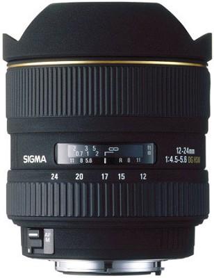 Ultra Wide Angle Zoom 12-24mm f/4.5-5.6 EX DG ASP HSM AF Lens for Nikon AF