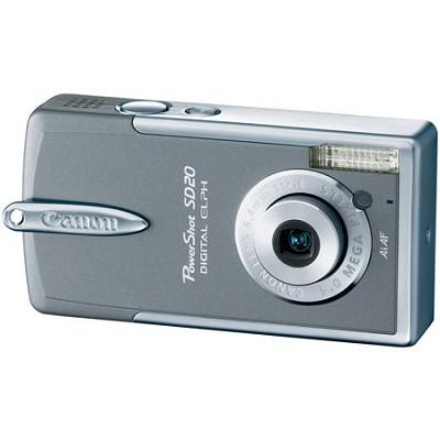 Powershot SD20 Zen-Grey Digital ELPH Camera