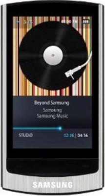 YP-R1JCS Silver 8GB MP3 Player / 2.6` Touch Screen/Bluetooth/FM Tuner/Beat DJ