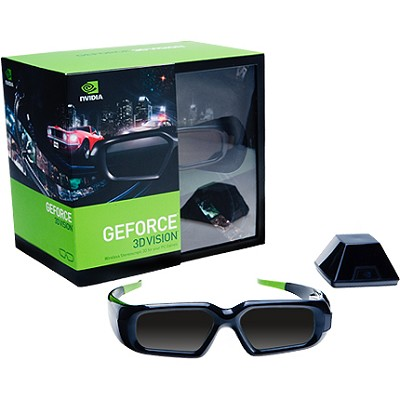 GeForce Wireless 3D Stereo Glasses Kit with Emitter