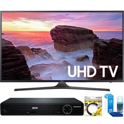 65` 4K HDR Ultra HD Smart LED TV (2017 Model) +HDMI DVD Player Bundle
