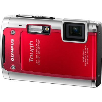 Tough TG-610 14MP Waterproof Shockproof Freezeproof Digital Camera - Red