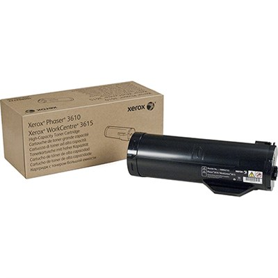 Black High Capacity Toner Cartridge for Phaser 3610 WorkCentre 3615 - 106R02722