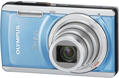 Stylus 7040 14MP 3.0` LCD Digital Camera (Blue)
