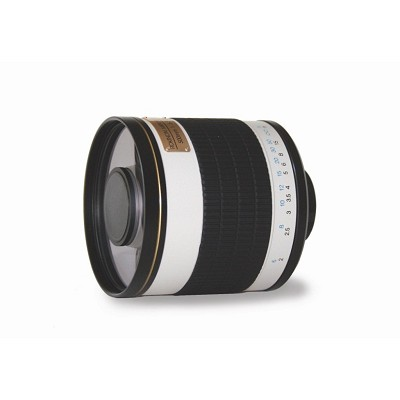 500mm f/6.3 Multi-Coated ED Mirror Lens for Nikon DSLR Cameras