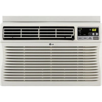8,000 BTU Window-Mounted Air Conditioner with Remote Control (115 volts)
