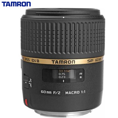 SP AF60mm F2 Di II LD (IF) 1:1 Macro Lens for Canon EOS (Certified Refurbished)