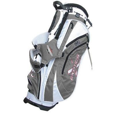 Exotics Xtreme Stand Bag Grey/White