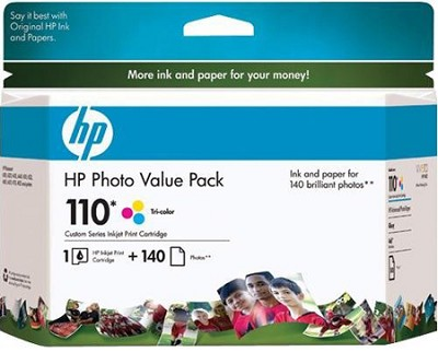 110 Series Photo Value Pack, 120 sheets HP Advanced Photo Paper