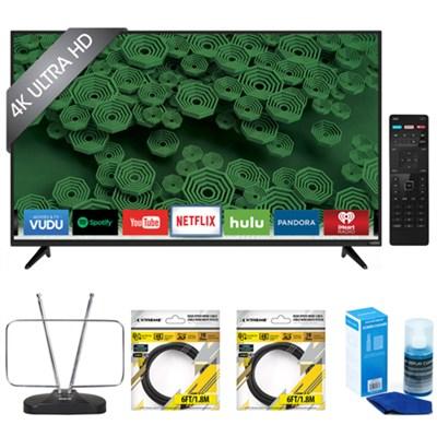 D55u-D1 D-Series 55-Inch 4K Ultra HD LED Smart HDTV with Accessories Kit