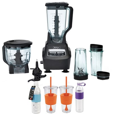 BL770 Ninja Mega Kitchen System with Copco Hydra Bottles Bundle