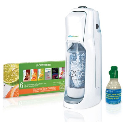 JET Home Soda Maker Starter Kit - White