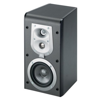 ES30BK 3-Way, 6 1/2` Bookshelf Speaker - Black (Pair)