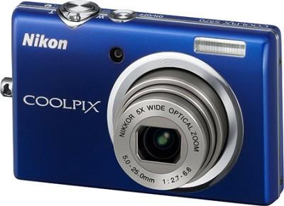 COOLPIX S570 12MP Digital Camera (Blue)