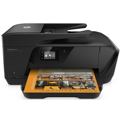 Officejet 7510 Wide Format All-in-One Photo Printer w/ Wireless Printing -G3J47A