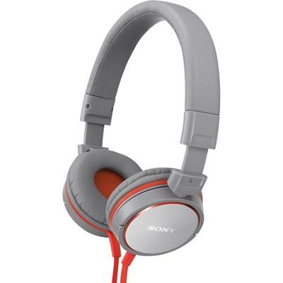 MDR-ZX600/GRAY Headphones (Gray)