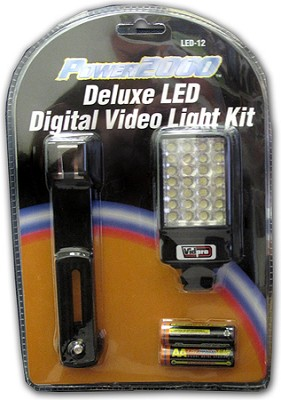 Power2000  LED video light