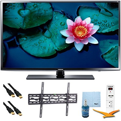 UN32H5203 - 32` Full HD 1080p 60Hz Smart TV Plus Tilt Mount & Hook-Up Bundle