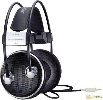 Pioneer Over-Ear Stereo Headphones, Black