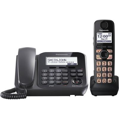 KX-TG4771B Dect 6.0 1-Handset Landline Telephone
