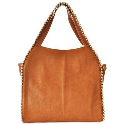 Grayson Shoulder Bag - Tan