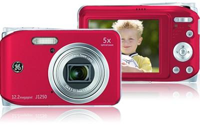 J1250 12MP Smart Series Digital Camera (Red)
