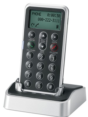 DECT 6.0 Digital Cordless Headset Remote Dial Pad