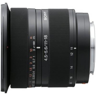 SAL1118 - DT 11-18mm f/4.5-5.6 Aspherical ED Super Wide Angle Zoom Lens