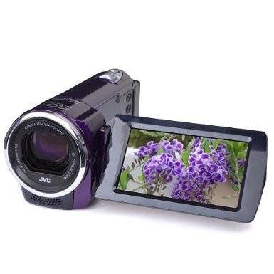 GZ-E10RUS HD Everio 1080p 40xZoom f1.8 (Violet) - Refurbished w/ 90 Day Warranty