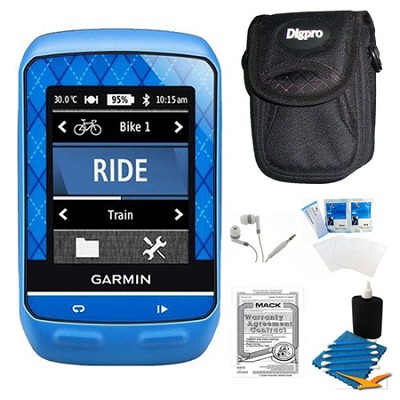 Edge 510 Cycling Team Garmin Monitor and Sensors GPS with Case and Warranty Kit