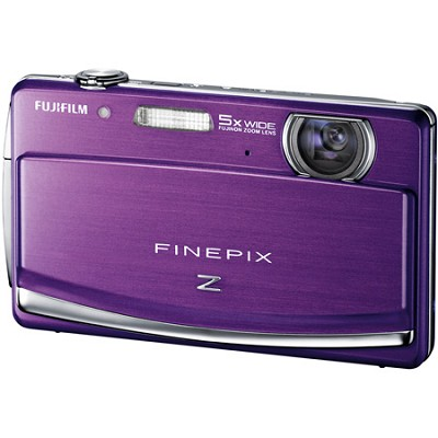 FINEPIX Z90 5x Wide Angle Zoom 14 MP Digital Camera (Purple)