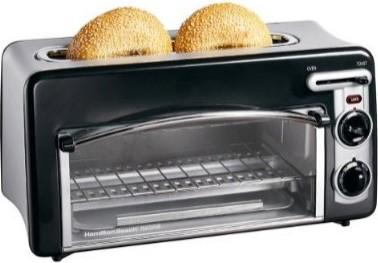 22708 Toastation 2-Slice Toaster and Mini Oven - Black