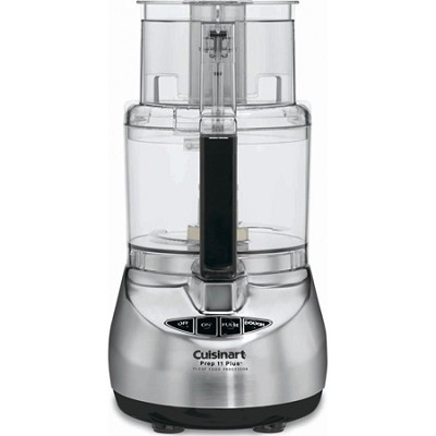 DLC-2011CHB Prep 11 Plus 11-Cup Food Processor, Brushed Stainless