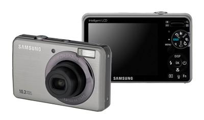 SL202 10MP/ 3X OPT/ 2.7` LCD Digital Camera (Silver) - REFURBISHED