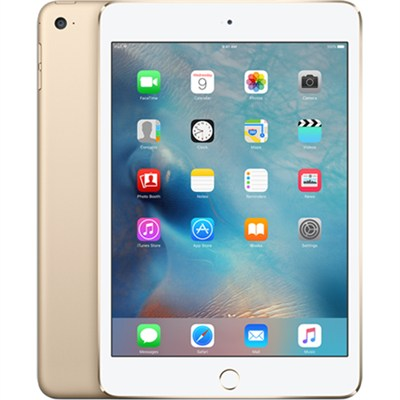 iPad Mini 4 16GB Wi-Fi Gold - MK6L2LL/A