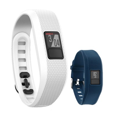 Vivofit 3 Activity Tracker Fitness Band w/ Replacement Band (Blue)